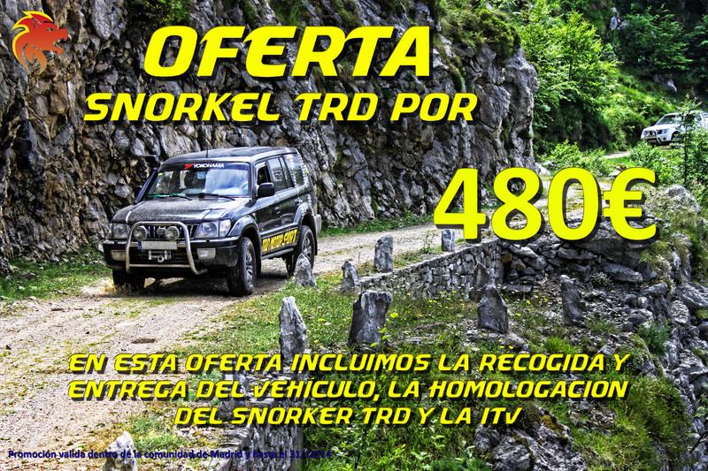 Oferta Snorkel por 480€
